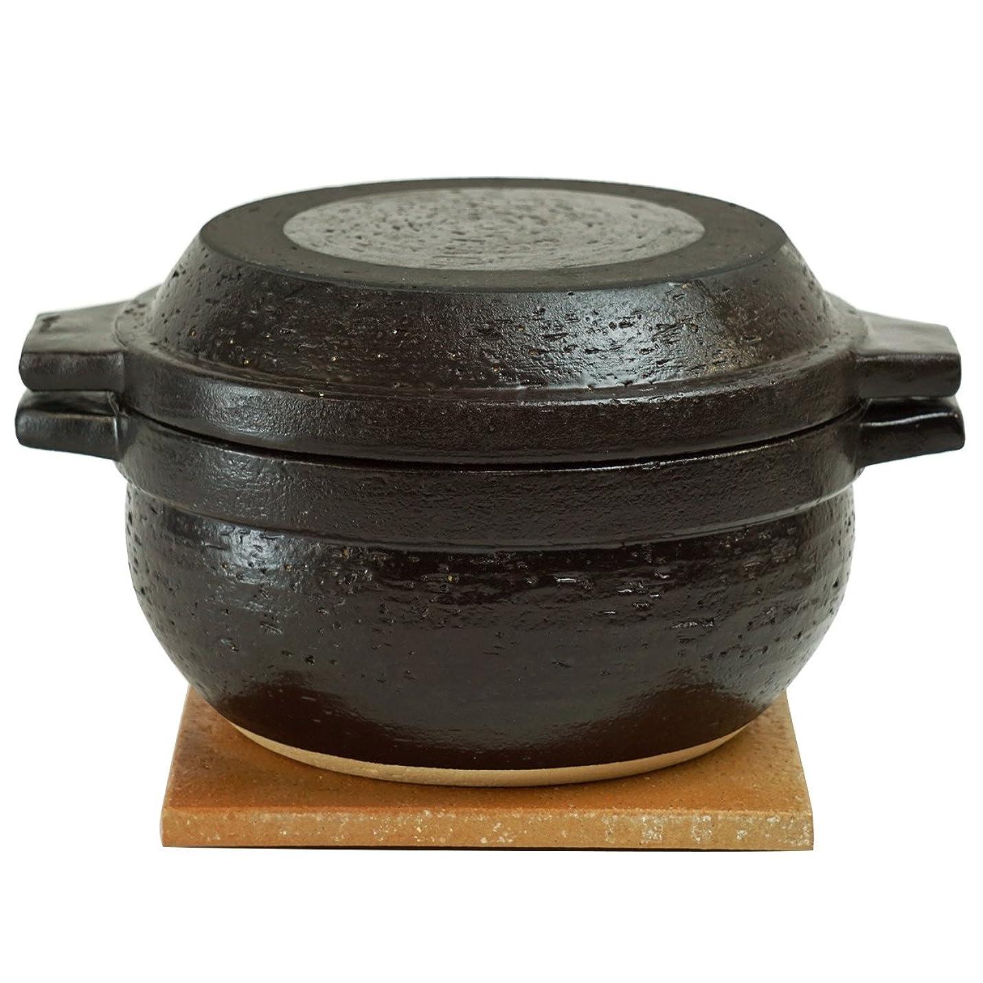 横たわる目的発表長谷園 男厨 土鍋 (1800ml) NC-94