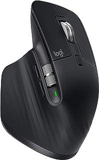 Logitech MX Master 3 Advanced Wireless Mouse, Ultrafast Scrolling, Use on Any Surface, Ergonomic, 4000 DPI, Customization,...