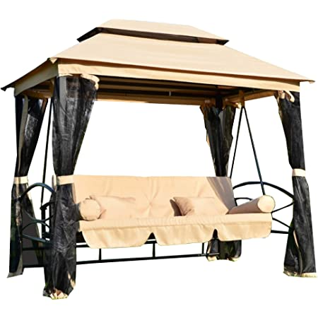 Outdoor Patio Gazebo Swing Replacement Canopy