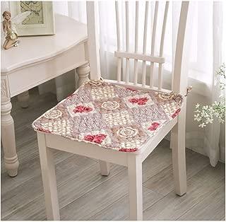 Rural Home Decor Chair Cushions, Car Home Decorative Throw Pillows Cushion Chair Mat for Office Dining Chairs,2,45X45Cm