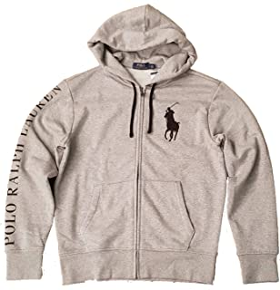 Polo Ralph Lauren Mens Big Pony Full Zip Hoodie Sweatshirt