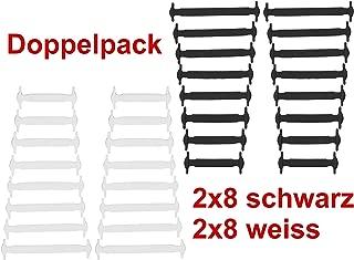 Doppelpack Schuhriemen für Kampfstiefel Schnürsenkel Schuhbänder 180 cm schwarz