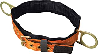 Titan Tongue Buckle Body Belt with Side D-Rings and 3-Inch Back Pad, Large (T3320/LAF)