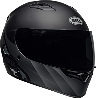 Bell Qualifier Full-Face Motorcycle Helmet (Integrity Matte Black/Titanium Camo, X-Large)