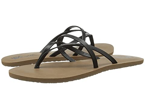 Volcom All Night Long Sandals Women brown Damen fObG2UnzL