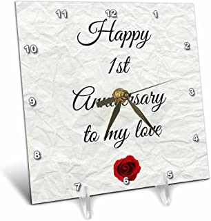 Best paper clock anniversary Reviews