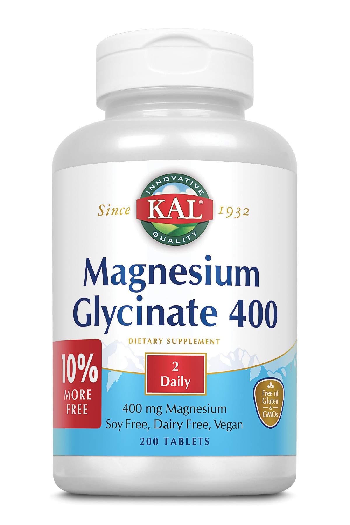 Magnesium Glycinate Chelated Non GMO Servings