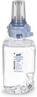 PURELL ADX-7 Advanced Hand Sanitizer Skin Nourishing Foam Refill, Fragrance Free, 700 mL EcoLogo Certified Sanitizer Refill for ADX-7 Push-Style Dispenser (Case of 4) – 8706-04