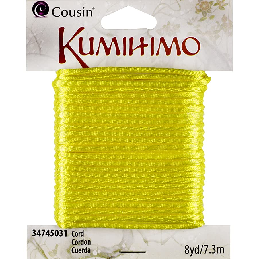 Cousin 1.5mm Cord, 8-Yard, Yellow