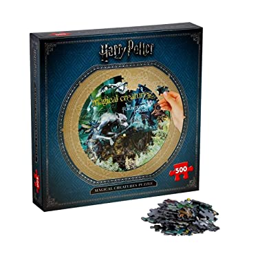 Harry Potter 2473 Jigsaw Puzzle, Magical Creatures 500PC