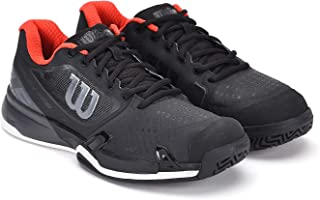 RUSH PRO 2.5 2019 Tennis Shoes, Black/ Ebony/ Wilson Red, 13
