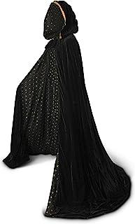 Details about  /New Adult White Velvet Cloak Cape Princess Costume Dress Up Men Or Women's NWT !