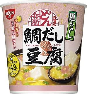 日清 麺なしどん兵衛 鯛だし豆腐スープ 11g ×6個