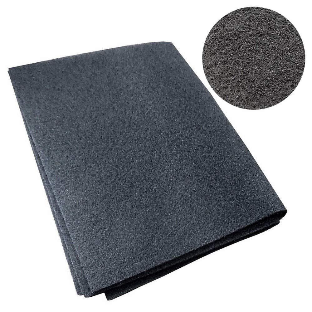 QFYUTEOP 57 * 47 * 0.3 cm Universal Campana extractora Extractor Carbón Filtro Carbón para Ventilador de Escape de Humo Gama de Campana de Cocina Partes: Amazon.es: Hogar