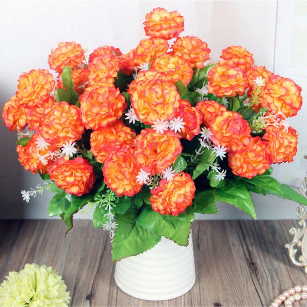 fairlove 8 Hydrangea flor artificial pequeña Hydrangea Seda ffeur ...