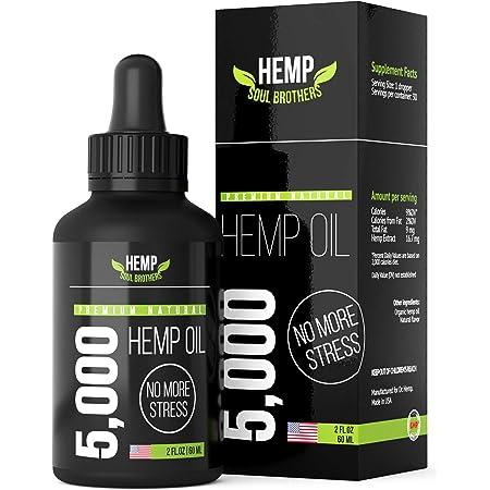Hemp Oil 5000 MG