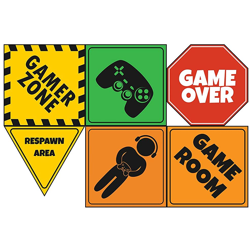 Video Game Party Sign 6