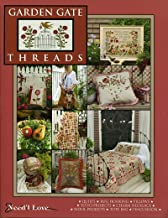 Garden Gate Threads: Quilts, Rug Hooking, Pillows, Yo-Yo Projects, Charm Necklace, Wool Projects, Tote Bag, Pin Cushion