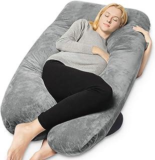 بالشتک بارداری U شکل با پوشش قابل شستشو محصول QUEEN ROSE
