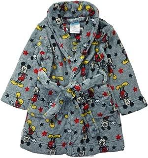 Disney Baby Boys' Toddler Mickey Mouse Robe