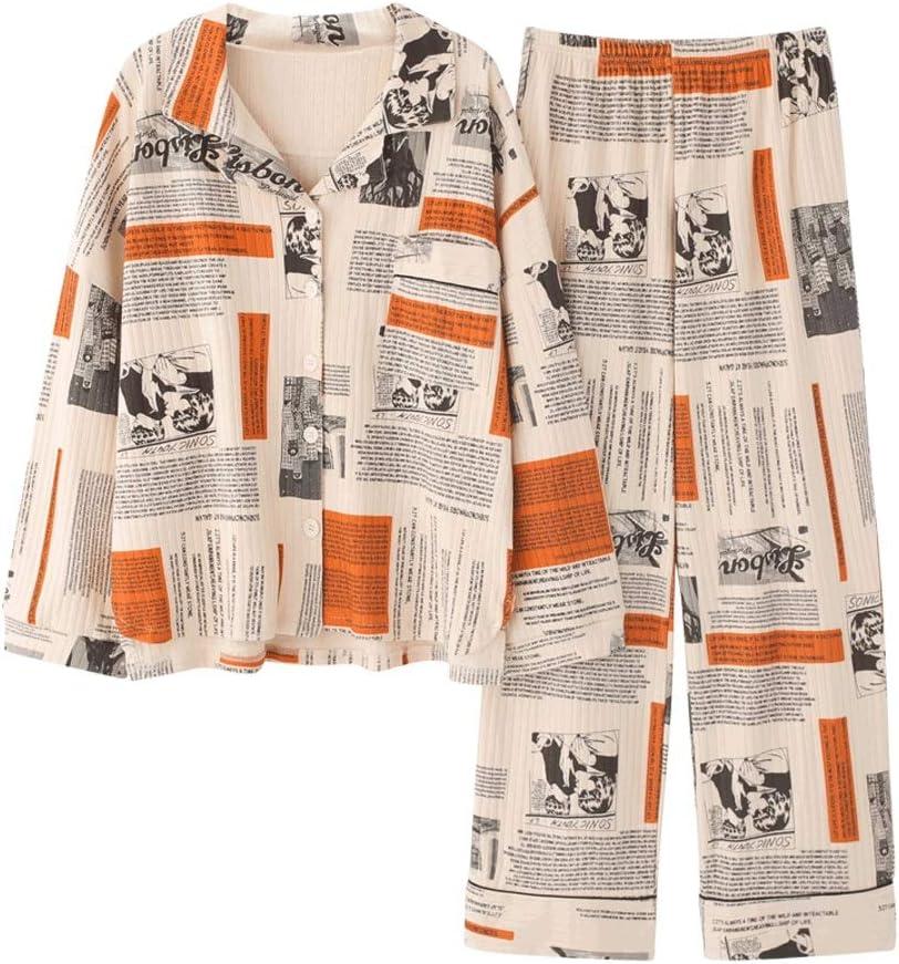 WSSBK Sleepwear Women's Cotton Cute Sleeve Max 89% Free shipping OFF Girls Pajamas Long To