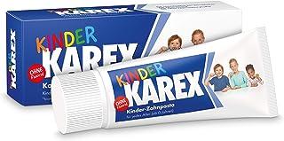 Kinder KAREX Zahnpasta – Kariesschutz für Kinder von 0 bis 12 Jahren – mit BioHAP,..