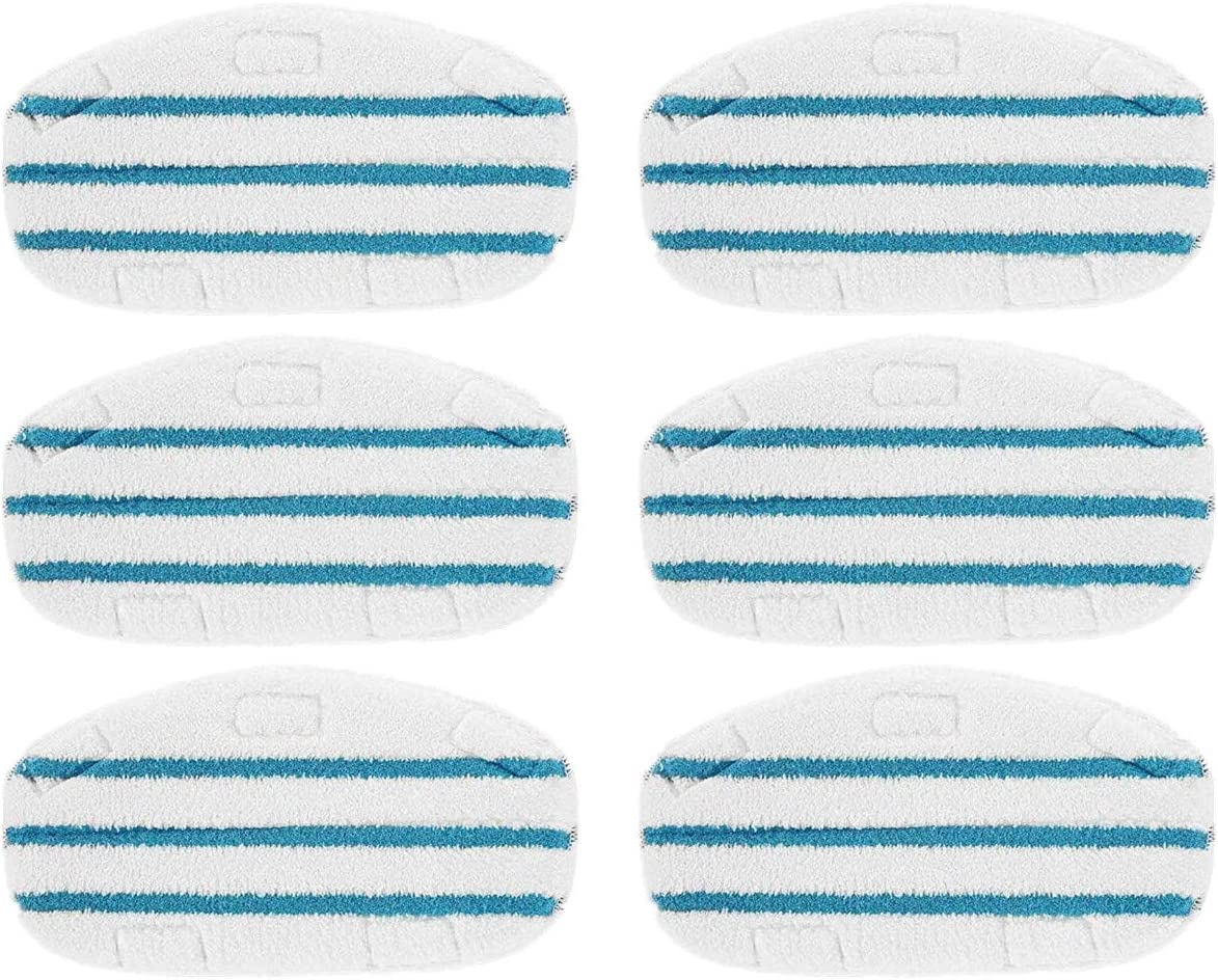 6 5% OFF Pack Washable Microfibre Steam Compatible PurSteam Th Mop Pads Safety and trust