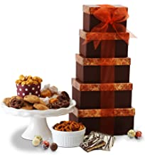 Gourmet Holiday Gift Basket for Christmas & Corporate Gifts for Men, Women, Families & Great Birthday, Get Well, Sympathy, & Thank you Snack Gift Idea