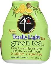 4c Totally Light Green Tea Liquid Water Enhancer 1.62 Fl Oz (4 Count)