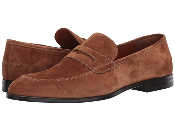 Bally  Webb Loafer (Cowboy Suede) Mens Lace up casual Shoes