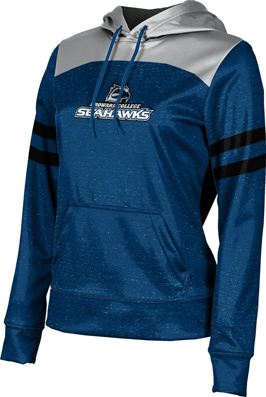 ProSphere Broward College Girls' Pullover Hoodie, School Spirit Sweatshirt (Gameday)