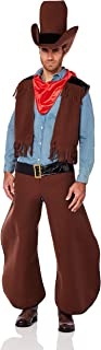 Men's Old Cowhand Costume