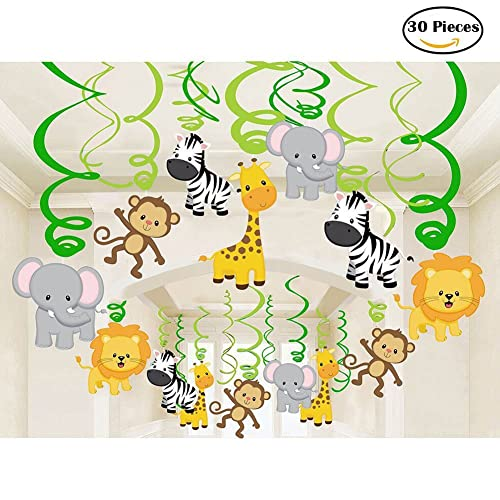 Jungle Theme Baby Shower Decorations Amazon Com