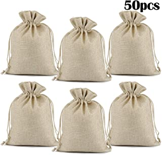Best large hessian drawstring bags Reviews