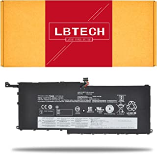 LBTECH 00HW028 00HW029 Compatible Laptop Battery Replacement for Lenovo ThinkPad X1 Yoga 1st 2nd Gen Carbon 4th Gen Series 01AV457 01AV441 01AV409 01AV458 01AV444 01AV438 01AV440 15.2V 52Wh/50Wh