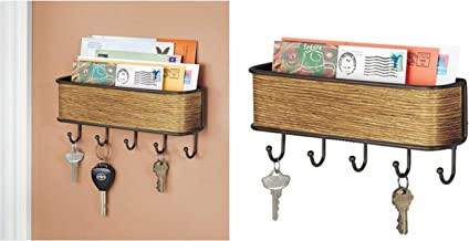 Bosphorus Key Holder and Coat Hanger, Brown, 90162ES