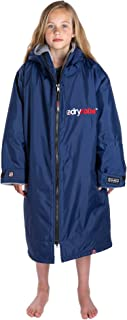 Dryrobe Advance LONG SLEEVE Change Robe - Stay Warm and Dry - Windproof Waterproof Oversized Poncho Coat - Swimming/Surfin...