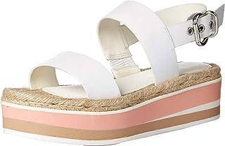 NINE WEST Women's Wnathena Wedge Sandal