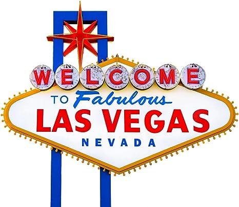 BENJAMIN DR Welcome To Fabulous Las Vegas Street Sign Laminated Plastic
