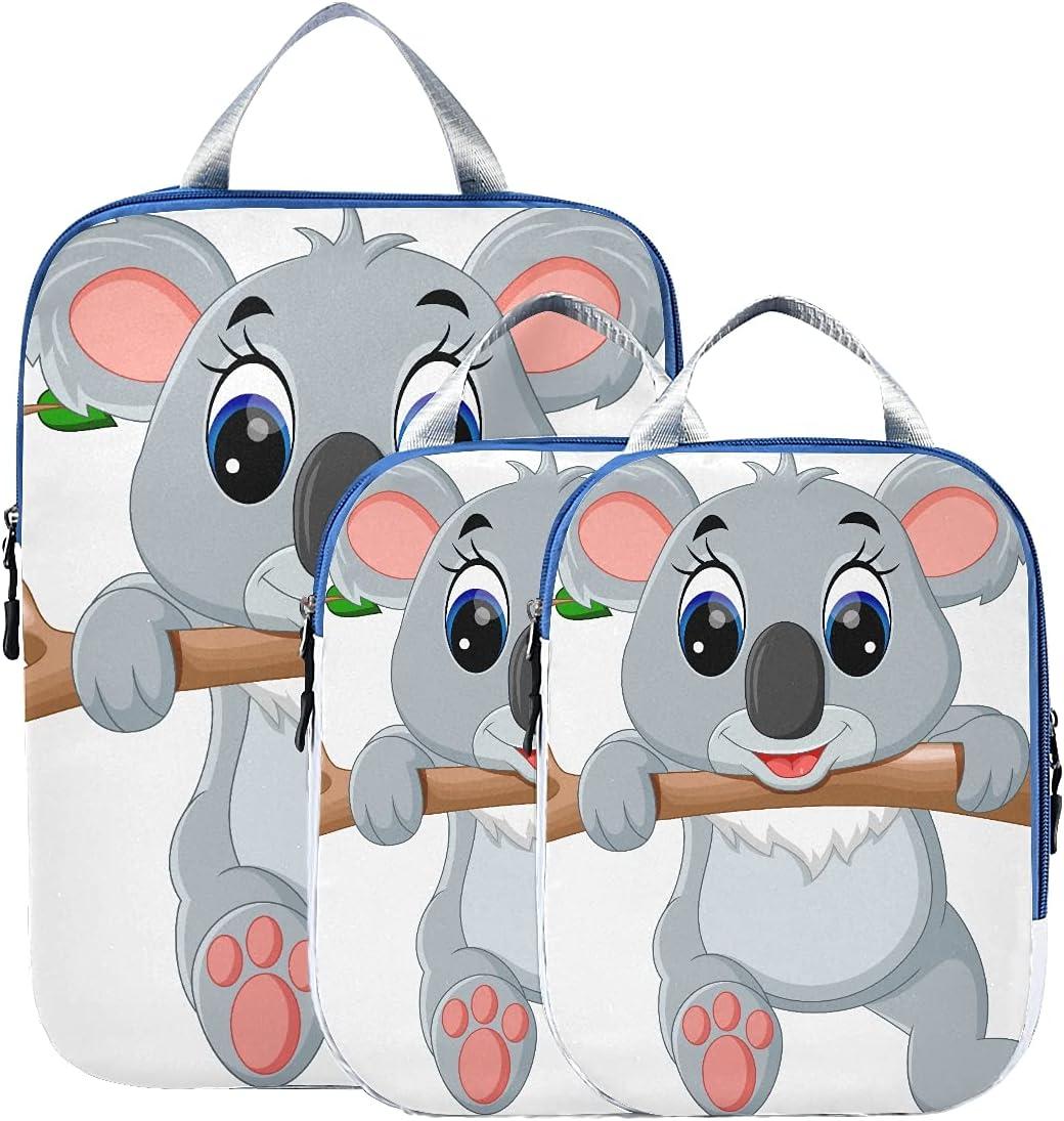 Popular Ranking TOP6 popular Travel Storage Bags For Luggage Compression P Cute Cartoon Koala