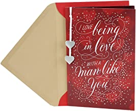 Hallmark Anniversary Card or Romantic Birthday Card for Him (Love Being in Love)