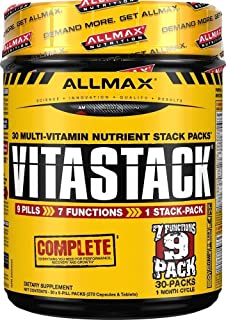 ALLMAX Nutrition Vitastack, Pill Pack, 30 Multi-Packs
