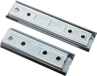 Meubelverbinder, metalen verbinding, roestvrij staal, bed, verbinder, bankverbinder, profiel beslag, rail 120x42x15mm