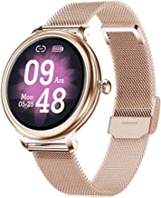 Smart Watch for Women, IP68 Waterproof Smartwatch Fitness Tracker Compatible with Android iOS Phone, Women Smart Watches with Heart Rate Sleep Monitoring Calories Pedometer Activity Tracker