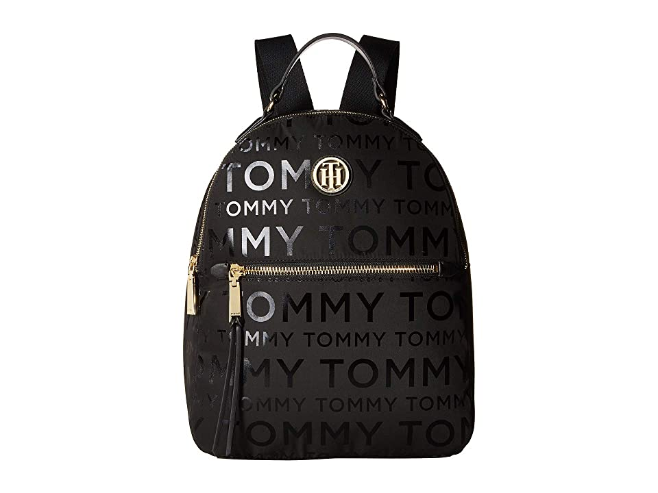 Tommy Hilfiger Shannon Backpack (Black) Backpack Bags