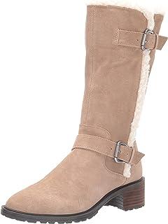 حذاء طويل حتى منتصف الساق من Lucky Brand Women's Jacoba للنساء، مقاس 6. 5