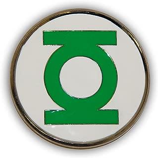 Official 3D GREEN LANTERN Belt Buckle cut out Logo