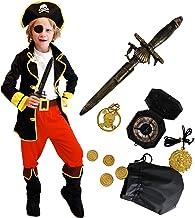 Tacobear Disfraz Pirata Niño con Pirata Accesorios Pirata