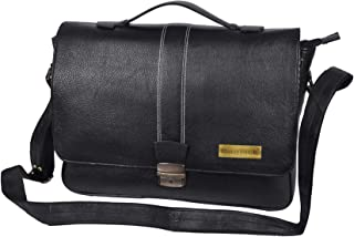 BAG JACK - Our Leo Thoroughly Practical Choice | Handcrafted | Natural Grain Leather | Men Office Bag | Leather Laptop Bag...