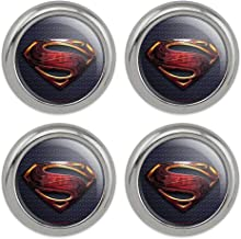 Justice League Movie Superman Logo Metal Craft Sewing Novelty Buttons - Set of 4
